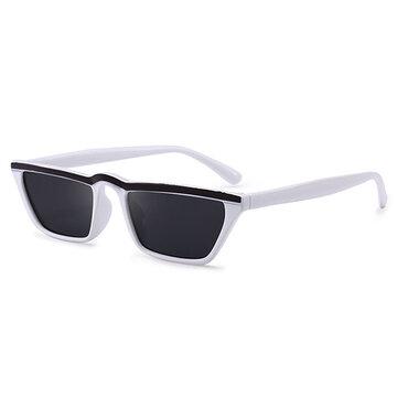 Face Thin Cat Eye Lightweight HD Square Sunglasses