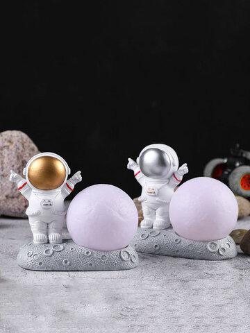 1Pc Creativity Sculpture Astronaut Spaceman Model Home Resin Handicraft Desk Decoration