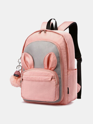 Patchwork Cute Rabbit Backpack