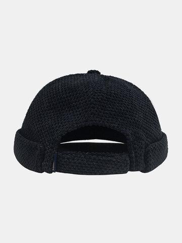 Men & Women Cotton Casual Brimless Landlord Hat Beanie Skull Hat