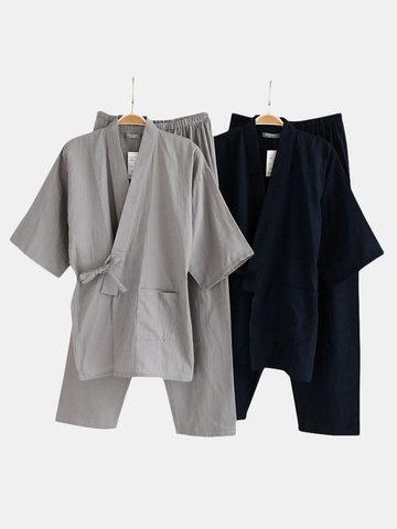 Schlafanzug aus Baumwolle