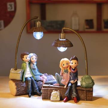 Couple Night Light Decoration