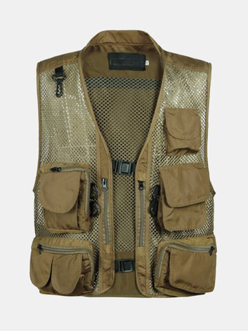 Breathable Mesh Quick Dry Fishing Vests