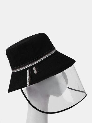 COLLROWN Removable Sun Visor Fisherman Hat Anti-droplet Cap