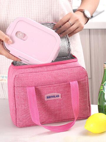 حقيبة غداء محمولة قطعة واحدة من رقائق الألومنيوم حقيبة طعام حرارية حقيبة تبريد