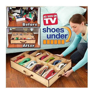 Household Useful 12 Pocket Shoe Storage Bag