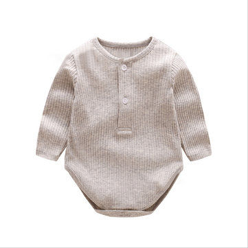 Baby Long Sleeve Romper For 0-24M
