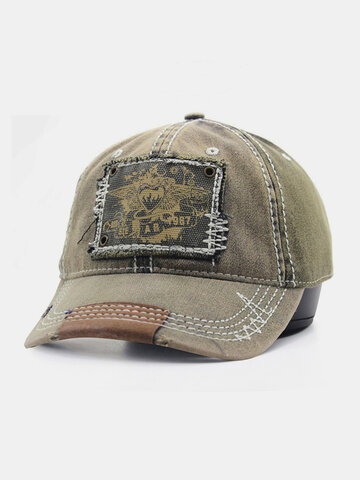 Unisex Made-Old Patch Printing Baseball Cap