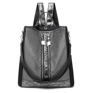 Women Oxford Sequins Backpack