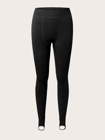 Loose Solid High Elastic Legging Pants