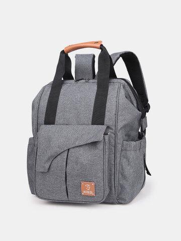 Women Oxford Large Capacity Diaper Bag Travel Backpack