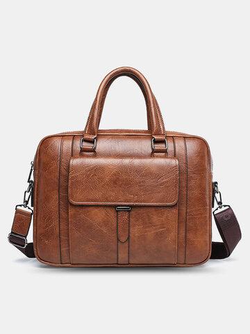 Vintage Briefcases Messenger Bag