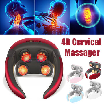 4D Multifunctional Neck Shoulder Neck Massager