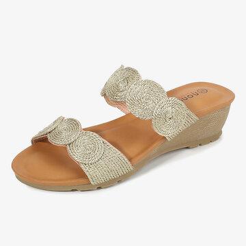 Women Cool Comfy Soft Backless Sandals