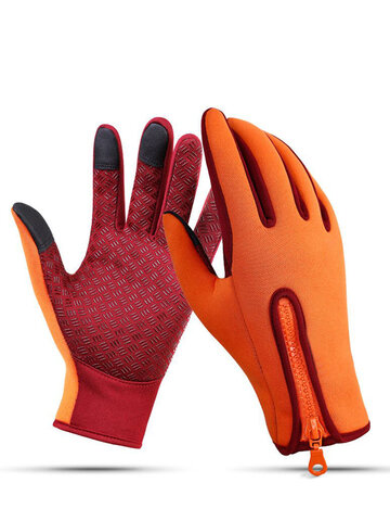 Ski Glove Waterproof Glove Warm Fleece Gloves
