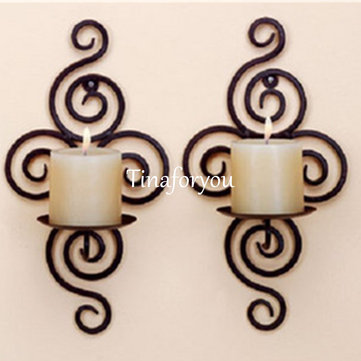 Wall Hanging Sconce Candle Holder Furnishing Articles Handmade