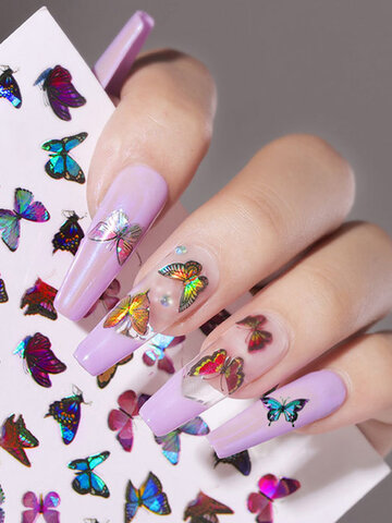 Butterfly Nail Art Stickers