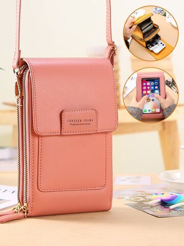 Multifunction Touch Screen 7 Inch Phone Bag