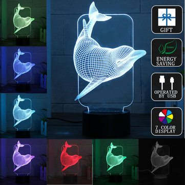 3D Illusion Night Light