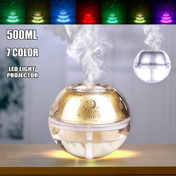 USB Colorful Light Crystal Humidifier