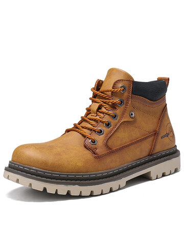 Men Outdoor Work Style Tooling boots