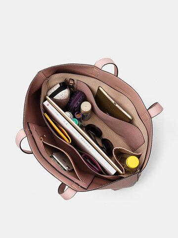 2 PCS Multi-pocket Multifunctional Handbag