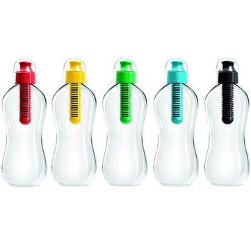 550ML Outdoor Multifunctional PE Carbon Filter Water Bottle Hydration Filtered Drinking Bottle