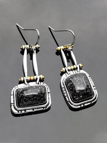 Turquoise Bag-shape Earrings