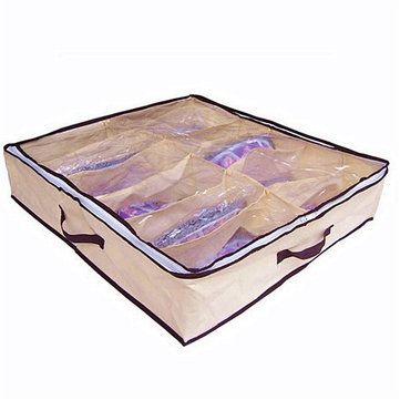 12 Pairs Shoes Organizer Storage Box
