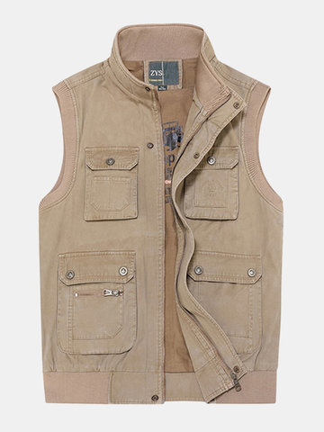 Plus Size Outdoor Vest