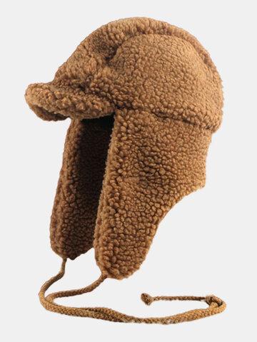Chapeau de trappeur d'hiver résistant au froid pour hommes et femmes
