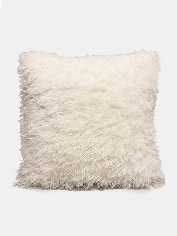 Nordic Wind Solid Color Sofa Pillow Office lumbar Pillow Car Cushion Cover