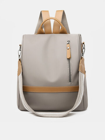 Women Anti-theft Backpack Purse Nylon Leisure Multi-function Shoulder Bags