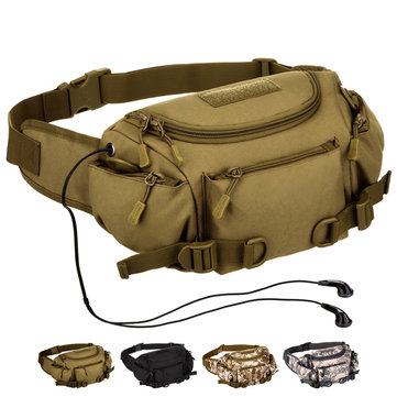 Nylon Outdoor Tactical Waist Bag Camping Fanny Pack For Men