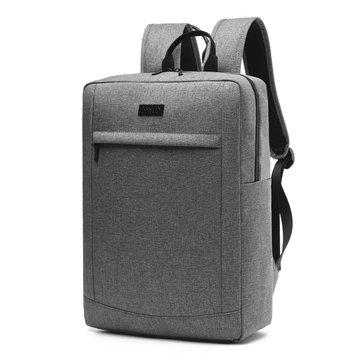 17 بوصة Canvas ضد للماء حقيبة كمبيوتر محمول حقيبة سفر الأعمال للرجال والنساء