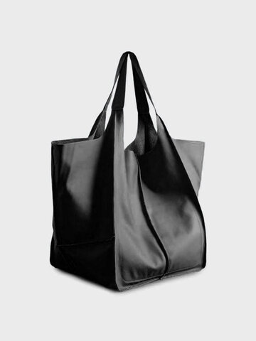 Vintage Oversized Soft Leather Tote
