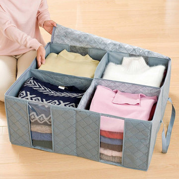 130L Transparent Clothes Quilts Storage Bag
