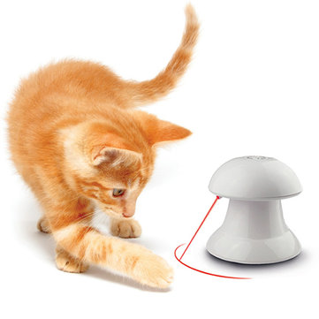 Funny Pet Toy to Tease Cats Dogs Red Laser Toys