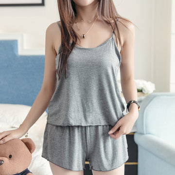 Modal Cotton Casual Sleepwear Suit