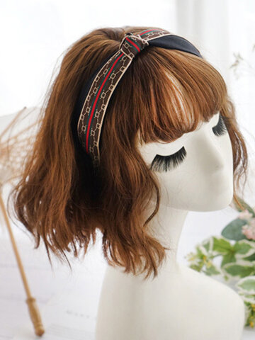 Temperament Knotted Headband