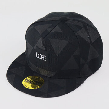 Triangle Patch Printed Flat Along The Baseball Cap