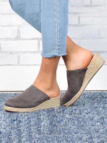 Wearable Slingback Wedges Sandals