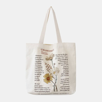 Women Large Capacity Printed Tote