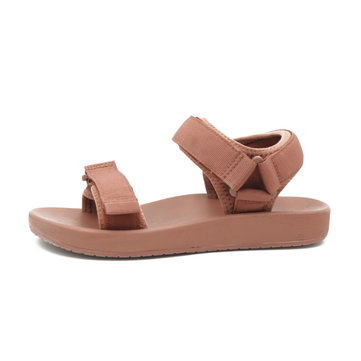 newchic / Casual Flat Sandals Women's Season New Wild Students Thick Bottom Beach Shoes Tide