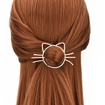 Hair Hollow Cat Hairpin