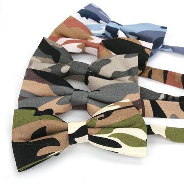 طباعة التمويه ربطة عنق التعادل