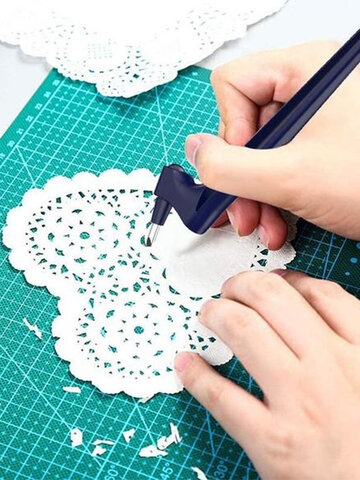 1 PC Craft Art Cutting Tools With 360° Rotating Blade Cutter Paper Suitable For Planner Stickers Artwork Graphic Design Architecture Scrap Booking