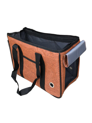 Canvas Pet Bag Portable Breathable Out Of The Hand