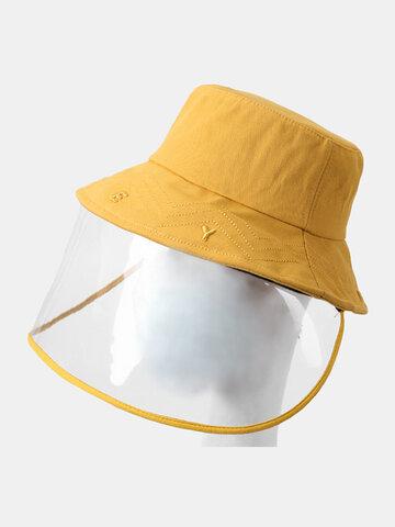 COLLROWN قبعة شمسية قابلة للتعديل ومضادة للضباب واقي من الشمس قابل للإزالة