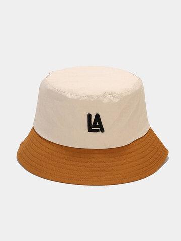 Unisex Colorblock Schnelltrocknender Eimer Hut